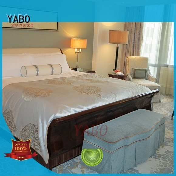YABO warm hotel bedroom furniture suppliers series for home