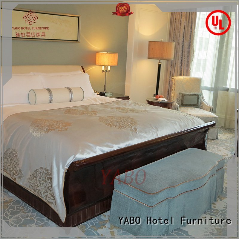 YABO popular modern hotel bedroom furniture king