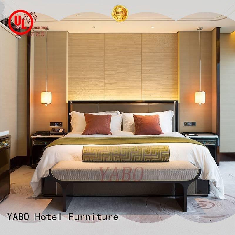 YABO england hotel bedroom furniture wholesale manufacturer for hotel