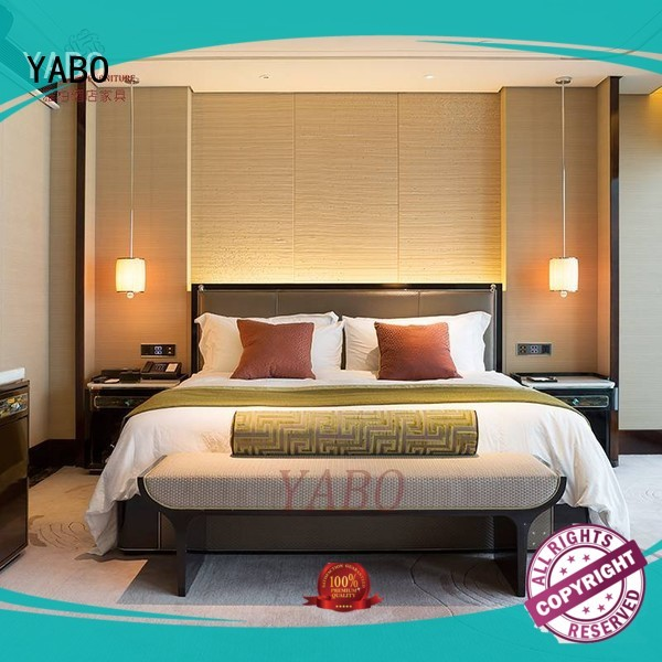 YABO classical contemporary hotel bedroom furniture on sale for home