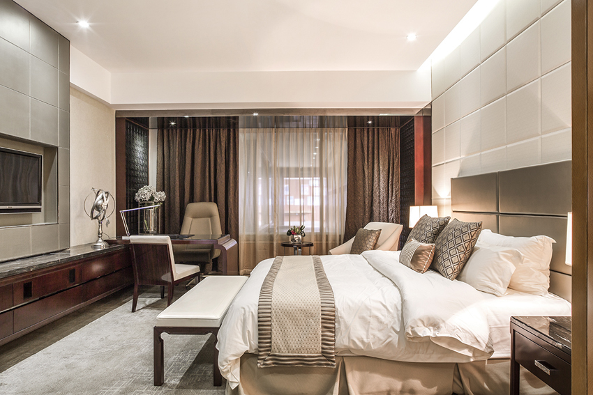Luxury 5 Star Hotel Wooden & Upholstery Furniture Hong Kong project