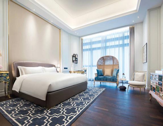 Hotel Furniture Manufacturer Supply Bedroom Furniture for Sofitel Hotel