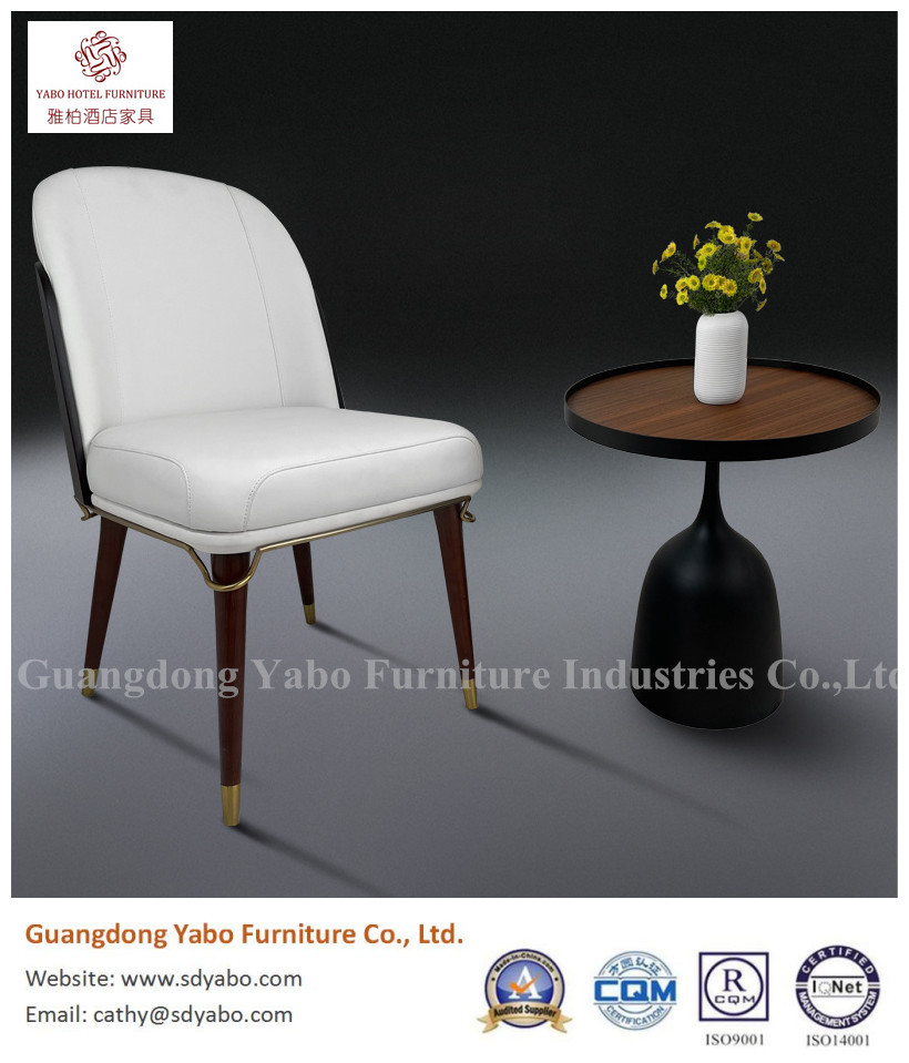 Grace modern solid wood dining chair home furniture