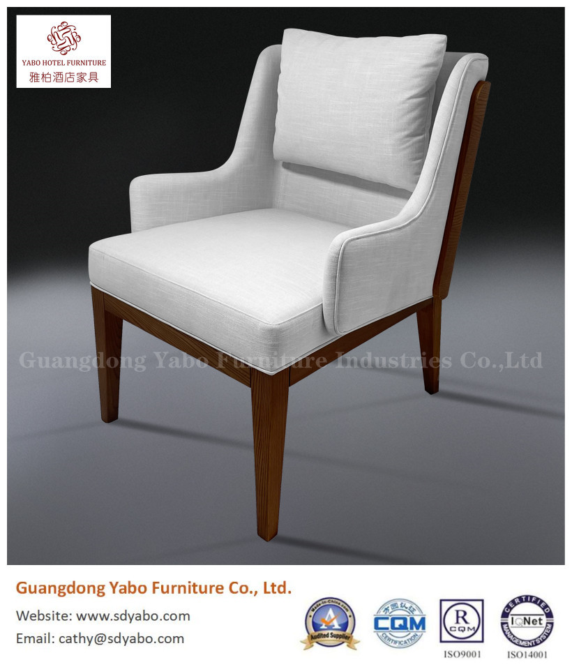hotel furniture modern wood fabric leisure chair